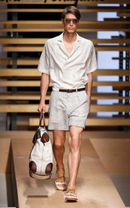 Salvatore Ferragamo Menswear Spring Summer 2015 Milan Fashion Week June 2014